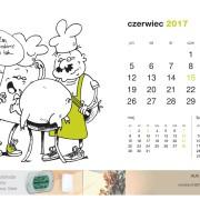 Kartka z kalendarza Beretta. Czerwiec