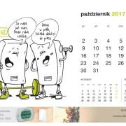 Kartka z kalendarza Beretta. Październik