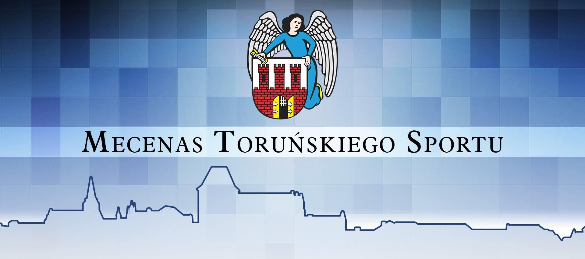Mecenas Toruńskiego Sportu-grafika