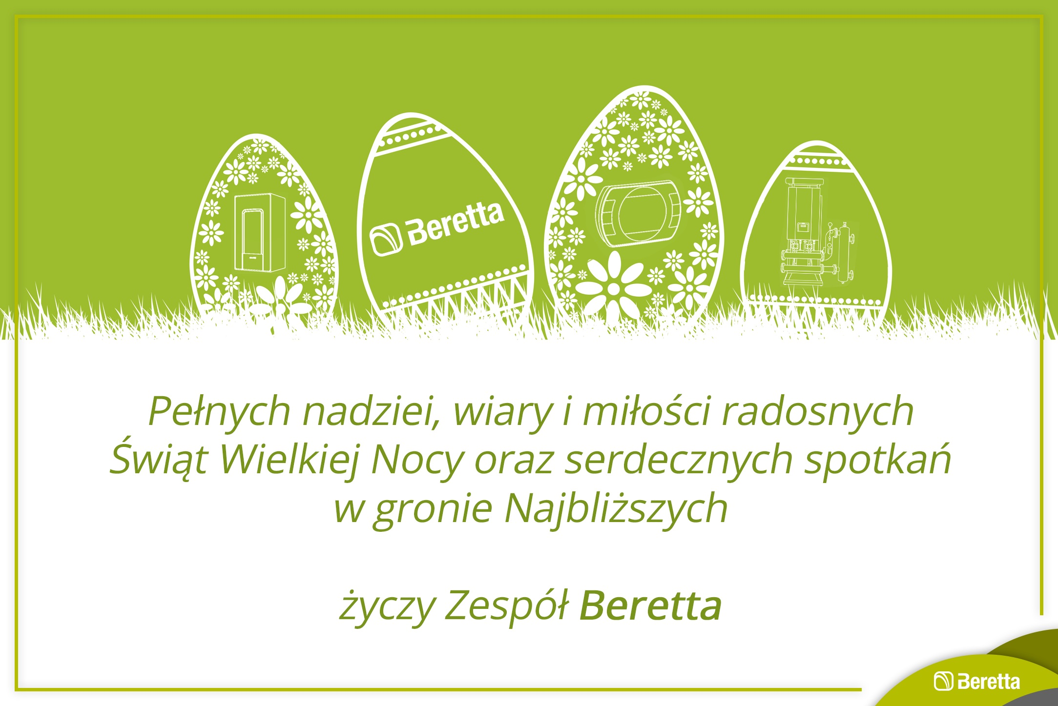 Życzenia wielkanocne od marki Beretta !
